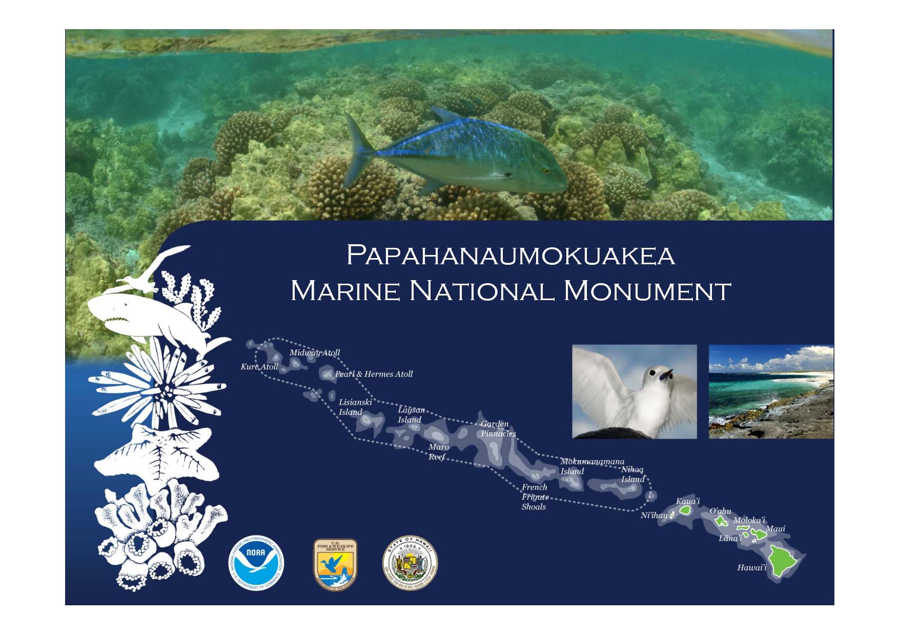 News generales croisiere et mer.. peut etre en traduc auto  - Page 40 Papahanaumokuakea