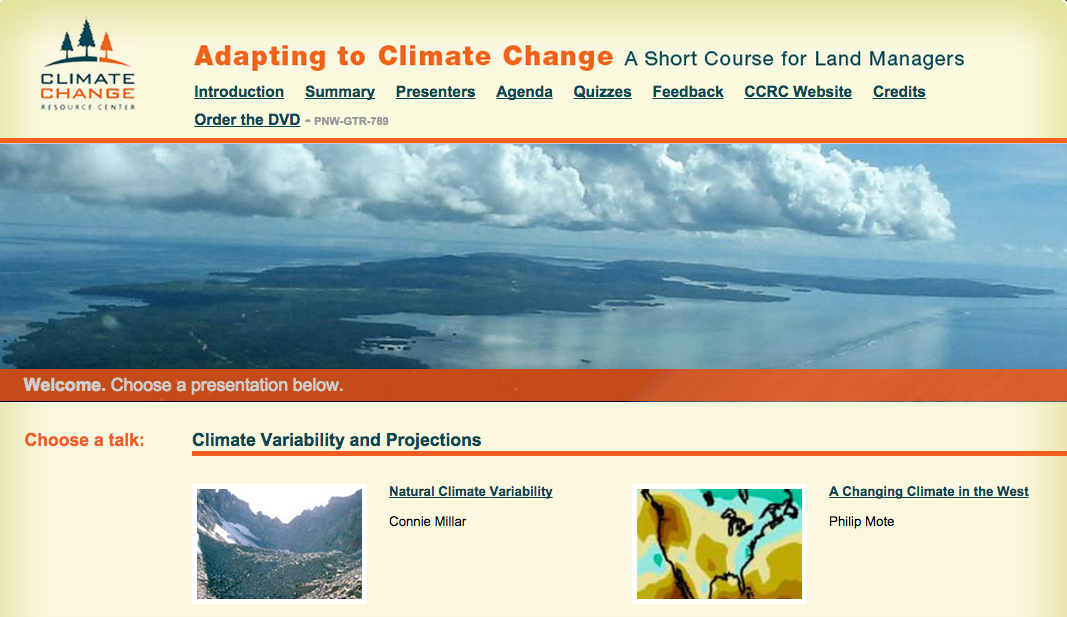 introductory summarry to climate change and