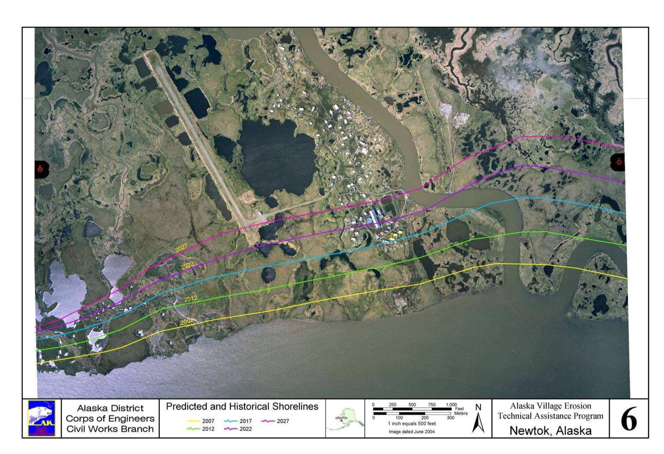 Kaktovik Alaska Map.Alaska Village Erosion Technical Assistance Program An Examination