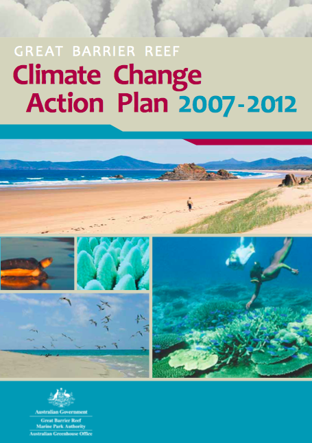 Great Barrier Reef Karte.Great Barrier Reef Climate Change Action Plan 2007 2012 Cake