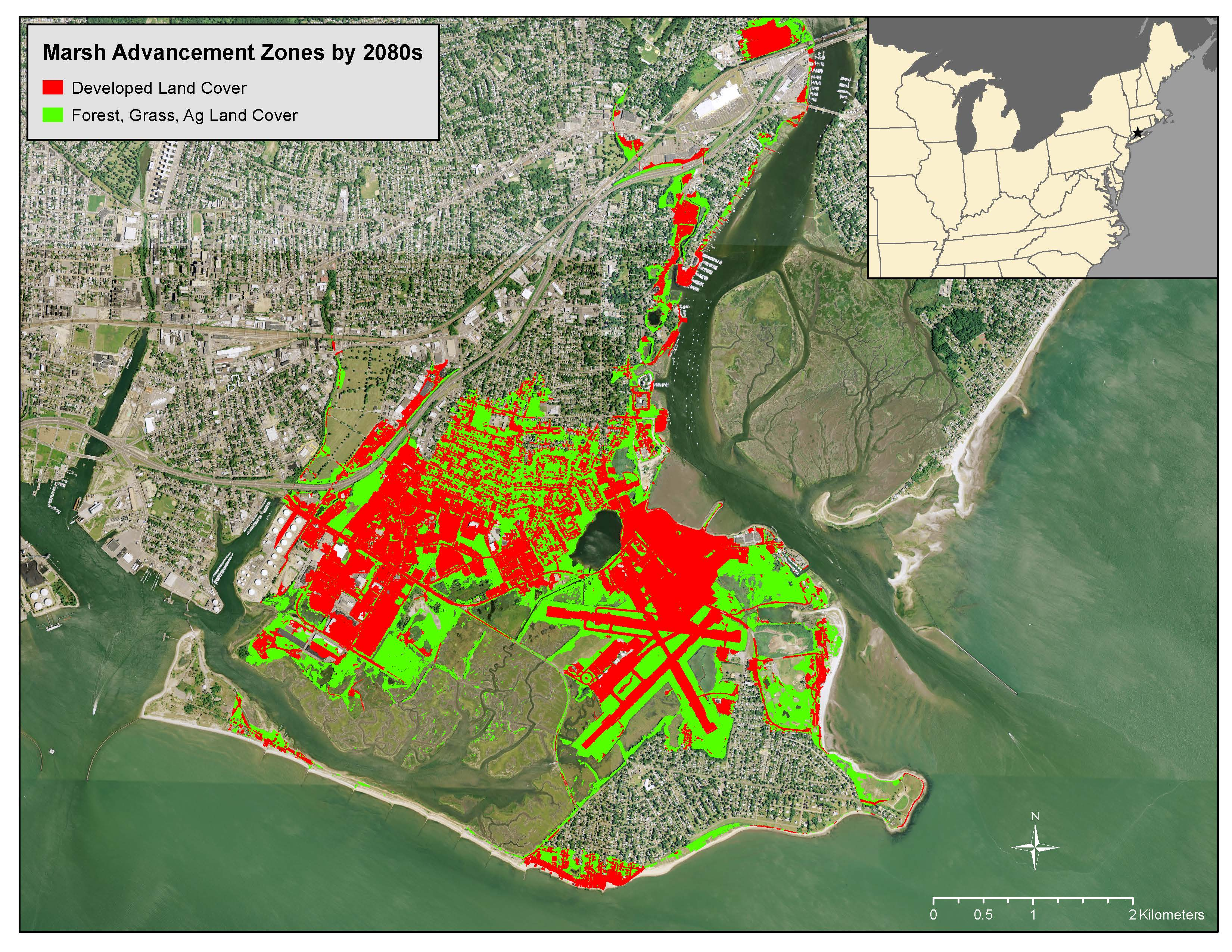 The Salt Marsh Advancement Zone Assessment For Connecticut Cake Climate Adaptation Knowledge Exchange Aerobic run assessment (zone 1). salt marsh advancement zone assessment